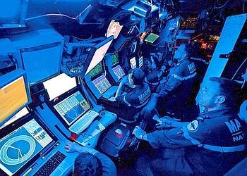 Au coeur d un sous marin nucleaire d attaque for Interieur sous marin