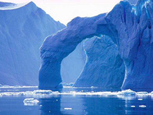 Paysages figés dans la glace