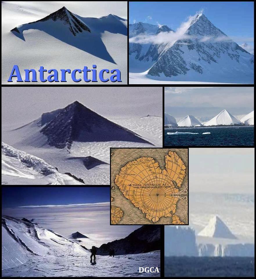 Trois pyramides retrouvées en Antarctique ? (5/6)