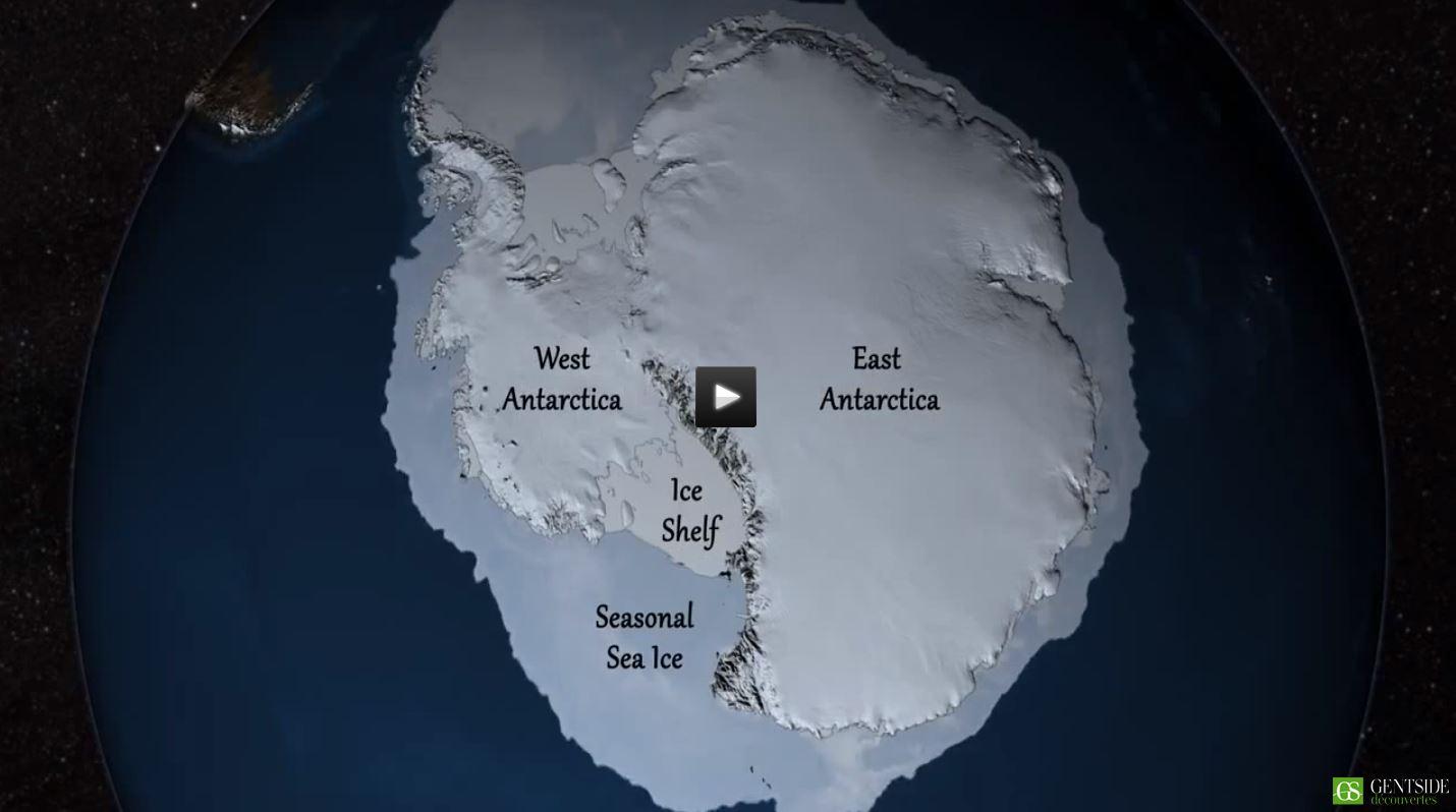 glacial sous une calotte