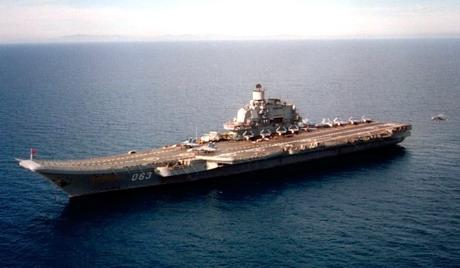 Amiral Kouznetsov © ru.wikipedia.org