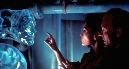 Scène de The Abyss (1989).