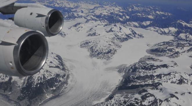 Le canyon a été recouvert par les glaces il y a 4 millions d'années (photo du Groenland d'illustration) Crédit Reuters/via Atlantico.fr