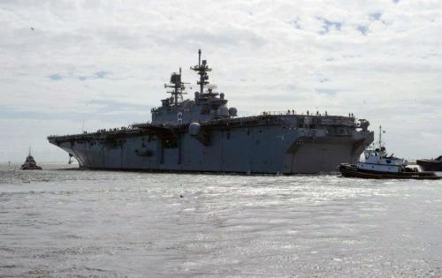 L'USS America (© US NAVY)