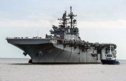 L'USS America crédits : US NAVY