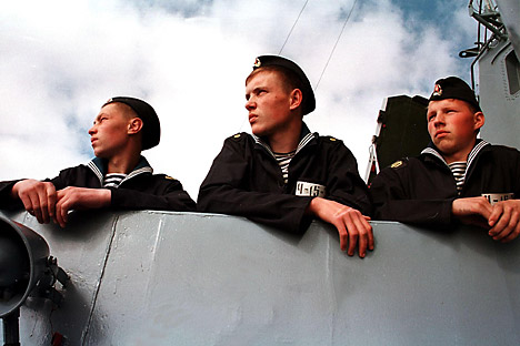 Presque tous les sous-marins ont deux équipages : lorsque le premier part en vacances après une mission, c'est le second qui prend le relais. Crédit : Reuters