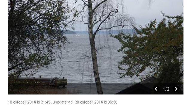 L'engin repéré dans l'archipel de Stockholm © Capture d'écran Svenska Dagbladet