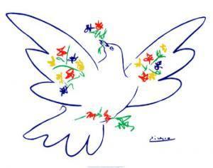 Une colombe pour l'humanité. (1/4)