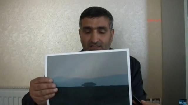 Dossier: Turquie: énorme ovni vu et photographié sur le lac de Van (5/6)