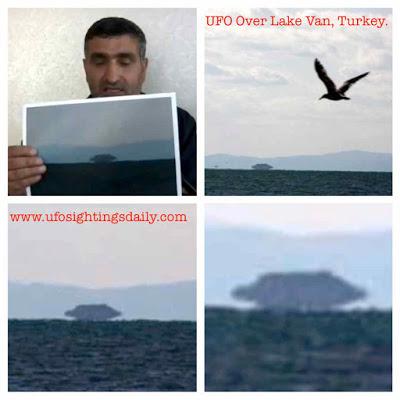 Dossier: Turquie: énorme ovni vu et photographié sur le lac de Van (4/6)