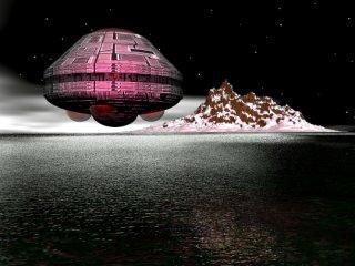 """une autre  illustration du """"vaisseau mère"""" du yukon crédit  image : badufos.blogspot.fr/"""