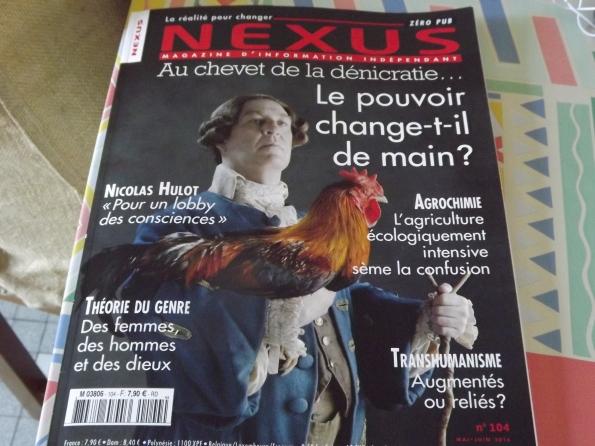 Nexus no 104 Mai /jJuin2016
